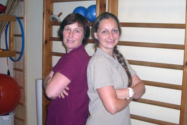 Unsere Physiotherapeutinnen